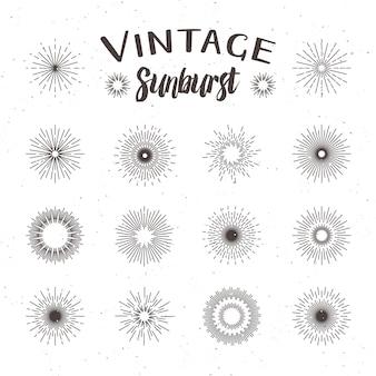 Sunburst vintage