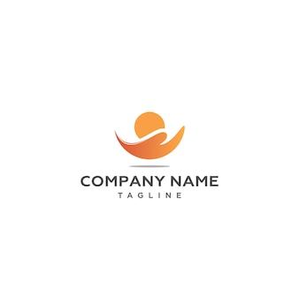 Sunset wave logo