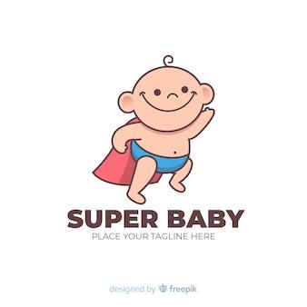 Super bébé logo