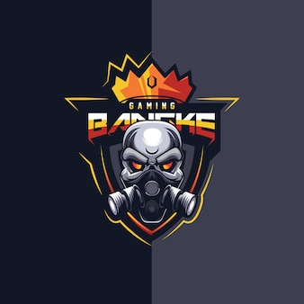 Super design de logo esport de jeu