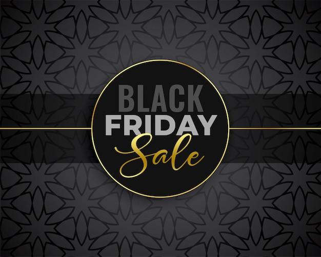 Super fond noir vente vendredi