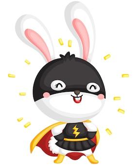Super-héros bunny
