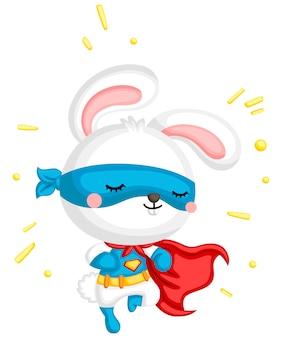 Super-héros de lapin
