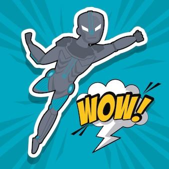 Super-héros robotique