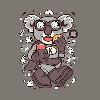 Super koala cartoon