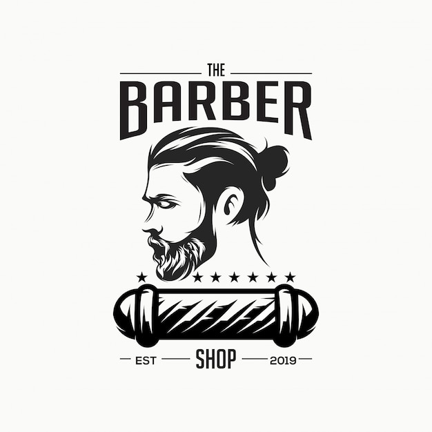 Super logo de coiffeur
