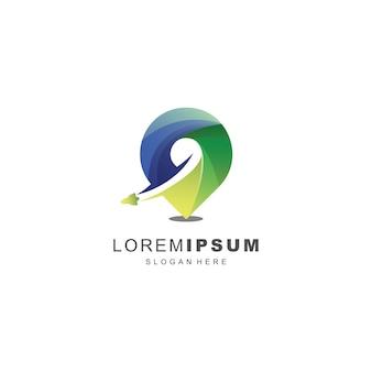 Super logo de voyage