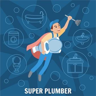 Super plombier