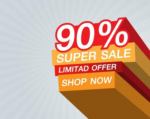 Super vente 90% design vectoriel