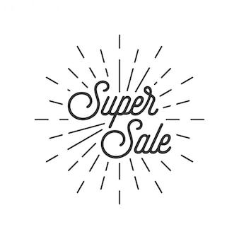 Super vente discount avec rafale style vintage