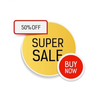 Super vente fifty percent off acheter maintenant lettrage.