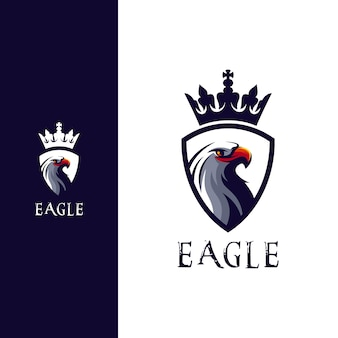 Superbe création de logo tête d'aigle