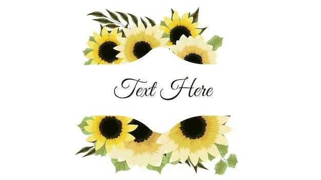 Superbe étiquette vintage de cadres de fleurs de couleur dans un style détaillé pour les invitations de mariage de cartes
