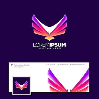 Superbe logo aigle