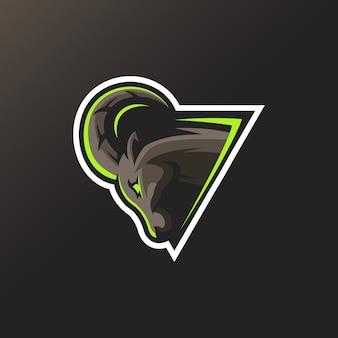 Superbe logo de chèvre pour votre sport