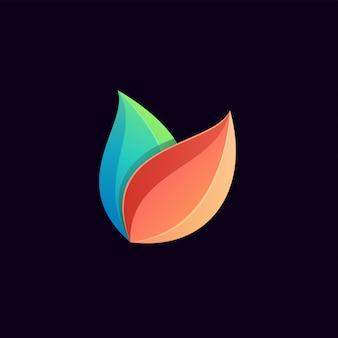 Superbe logo coloré