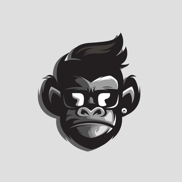 Superbe logo de gorille