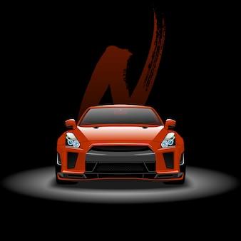 Supercar sport rapide