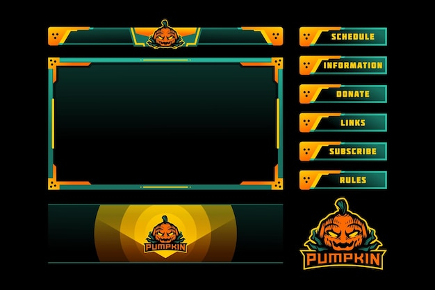 Superposition du panneau de jeu pumpkin
