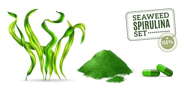 Supplément spiruline algue algue