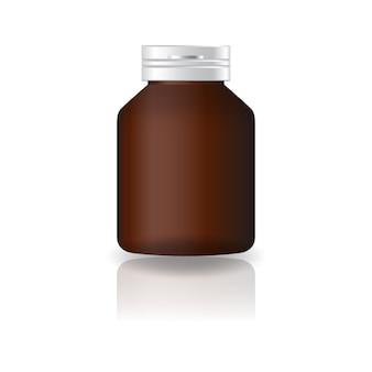 Suppléments ronds bruns blancs