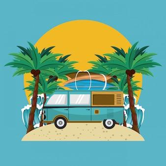 Surf et plage
