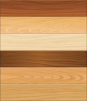Surface du parquet en bois.