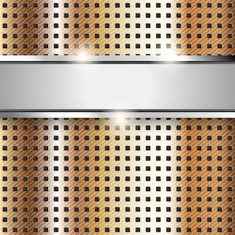 Surface métallique, fond de texture de fer cuivre