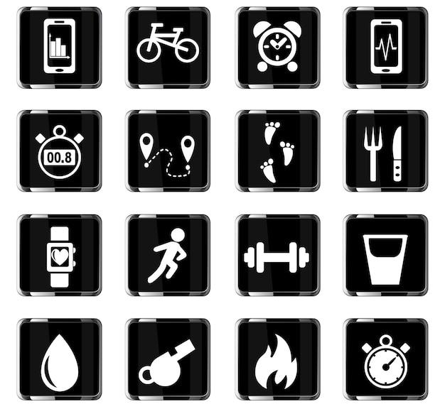 Surveillance des icônes web des applications pour la conception de l'interface utilisateur