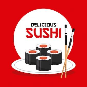 Sushi délicieux