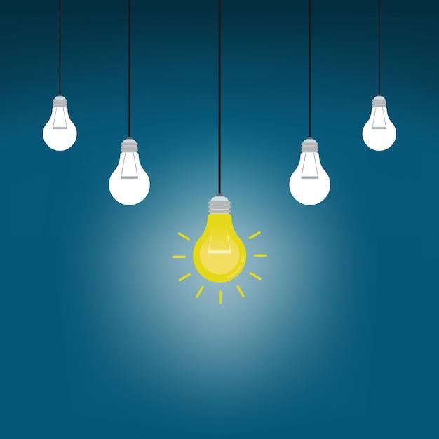 Suspendre les ampoules avec un brillant