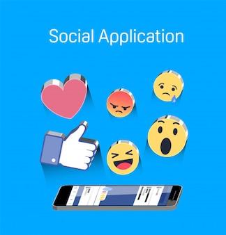 Symbole d'application sociale