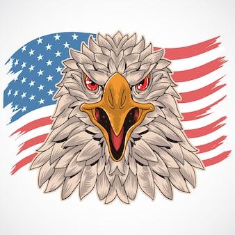 Symbole de l'armée américaine aigle