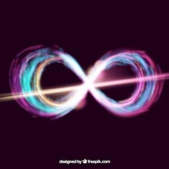 Symbole de l'arrondi de l'objectif infini