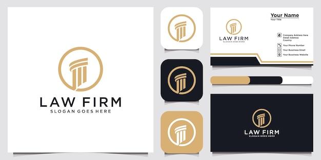 Symbole avocat avocat avocat modèle style linéaire bouclier épée loi cabinet juridique société de sécurité