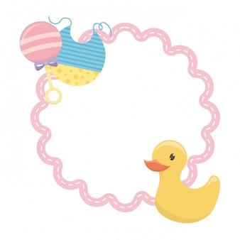 Symbole de douche de bébé