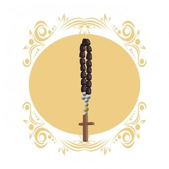 Symbole du chapelet catholique