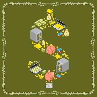 Symbole du dollar