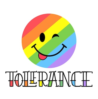 Symbole du drapeau arc-en-ciel lgbt de fierté gaie et lesbienne