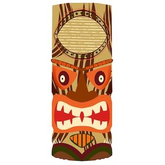 Symbole du totem africain idole de l'afrique
