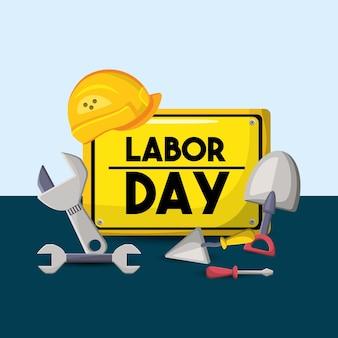 Symbole de la fête nationale du travail