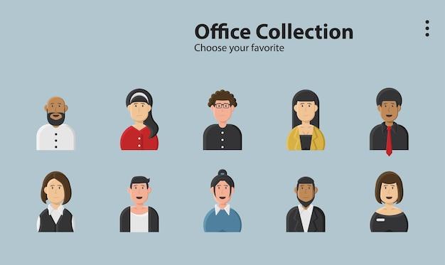 Symbole fond d'écran application lineart style art commercial logo campagne emploi bureau lieu de travail entreprise présente