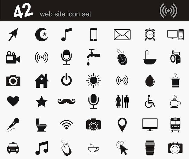 Symbole d'icônes web simple