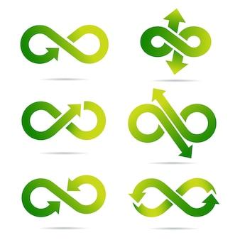 Le symbole de l'infini dans le vecteur