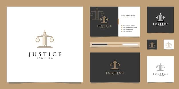 Symbole de la loi de la justice premium. cabinet d'avocats, cabinets d'avocats, services d'avocat, inspiration de conception de logo de luxe.