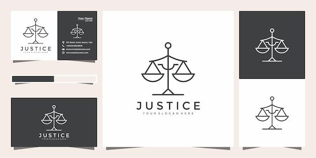 Symbole de la loi de la justice premium.