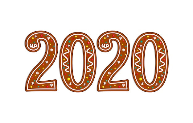 Symbole de pain d'épices noël 2020