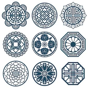Symboles coréens traditionnels