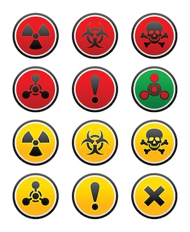 Symboles de danger