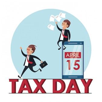 Symboles de la journée de l'impôt